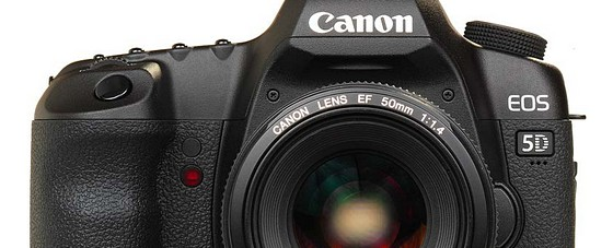 Canon upgrades EOS 5D Mark II video with firmware update