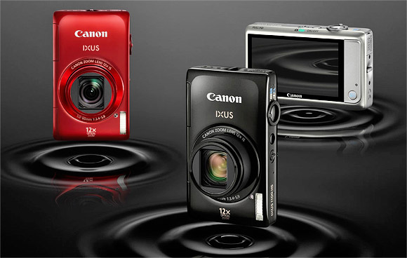 Canon IXUS 1100HS becomes the world's slimmest 12x zoom compact camera