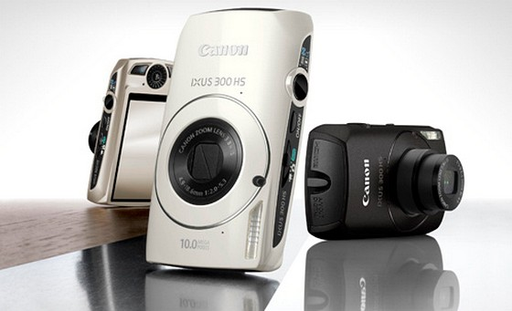 Canon catapults the IXUS 300 HS compact=