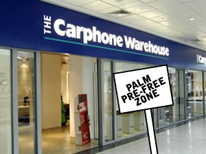 Carphone Warehouse and Palm Pre: