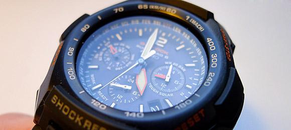 Casio GW-2000 Solar Atomic Aviation G-SHOCK watch review