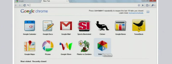 Google introduces Chrome Web Store, shows off Chrome laptop