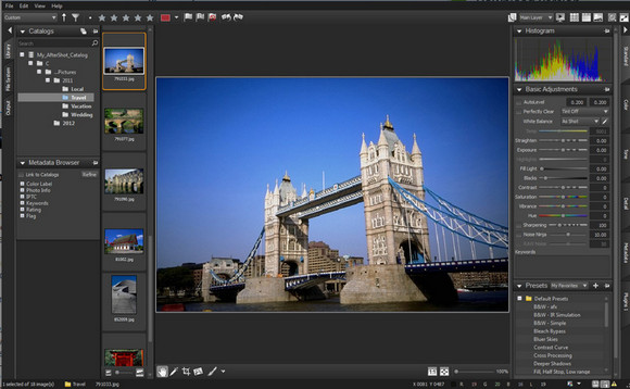 Corel's $99 AfterShot Pro photo management tool runs on Linux, Mac and Windows