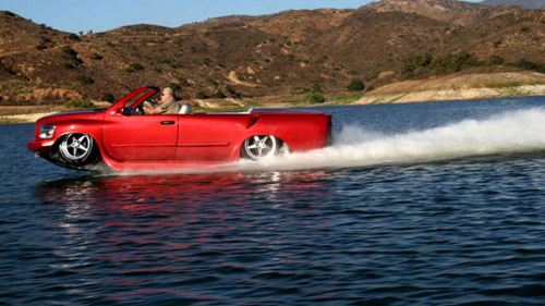 Corvette Python: world's fastest amphibious car