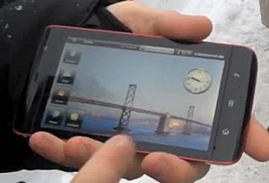 Dell Mini 5 Android-powered tablet spotted in action