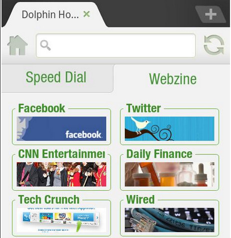 Dolphin Browser HD 6.0 Android browser pulls out the stops