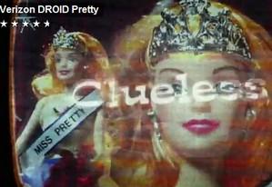 Hilarious Motorola Droid advert slams into the 'tiara wearing' iPhone