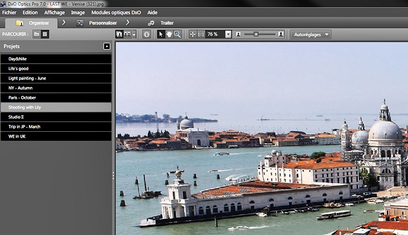 DxO Optics Pro 7 serves up high end photo editing tools for Mac/PC users