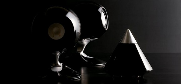Eclipse TD508II-UD space age speakers for well-heeled audio buffs