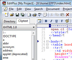 EditPlus Text/HTML Editor v3.11 Review