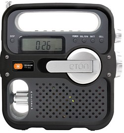 Eton FR360 solarlink wind-up radio for the festival season