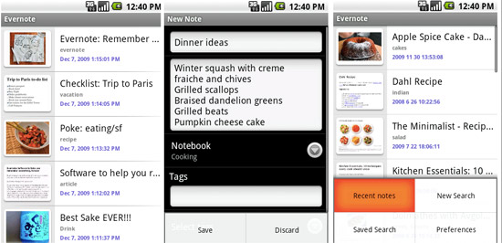 Evernote Android app released