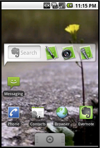 Evernote declares fresh love for Android, offers homescreen widget