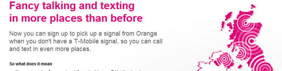 Orange customers get T-Mobile's network for free - and vice versa!