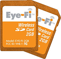 Eye-Fi Wi-Fi memory cards click into the UK