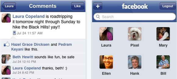 Facebook for iPhone gets updated to v3.1.3