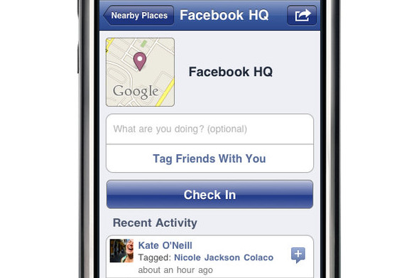 Facebook Places explained: it's all about the check-ins and sharing