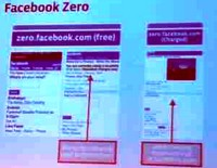 Facebook Zero: a text-only, slimmed down site for mobile phones