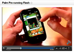 Flash beta for webOS and WM by end of the year