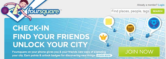 Dominos Pizza hooks up with Foursquare to offer freebies