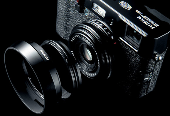 Fujifilm X100 camera now available in lustworthy limited edition black finish