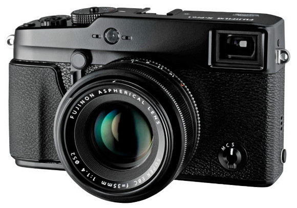 Fujifilm X-Pro 1 mirrorless interchangeable lens camera gets full press release. We lust heartily