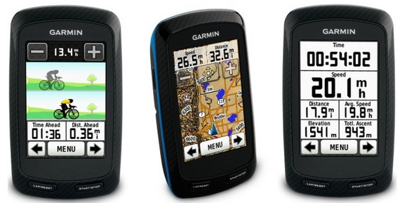 Garmin touchscreen Edge 800 GPS for cyclists looks a winner