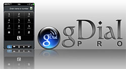 Google Voice explained: gDial Pro client for the Palm Pre