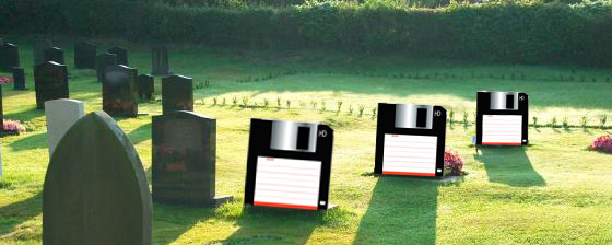 So, farewell dear floppy disk