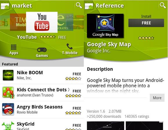 Android Market gets super slick revamp
