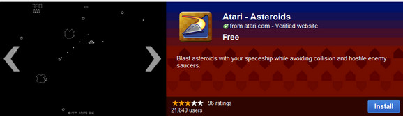 Chrome Web Store fills up with free Atari games, productivity crumbles