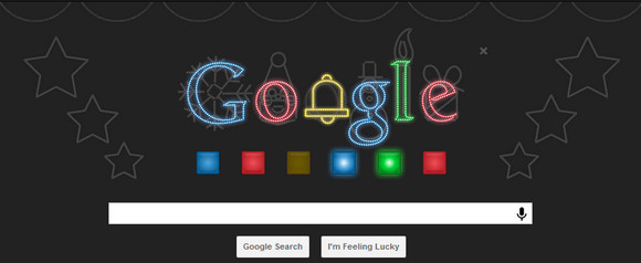 Christmas Google Doodle animates, bangs out 'Jingle Bells'