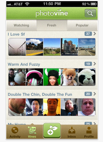 Google releases Photovine for iPhone app. Heads are scratched