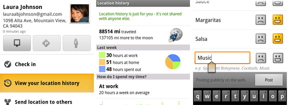 Google Maps 5.3 for Android adds location history dashboard
