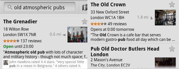 Google Maps on Android 4.7 adds personalised recommendations - iPhone app 'soon'