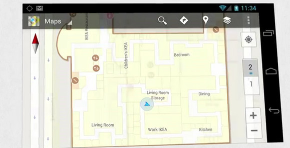Google Maps adds indoor maps and floor plans