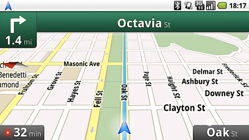 Google Maps Navigation: free turn-by-turn navigation for Android 2