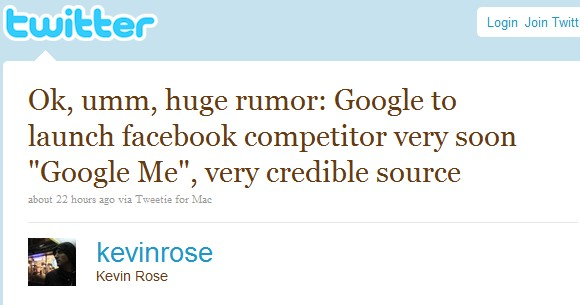 Google gunning for Facebook with Google Me?