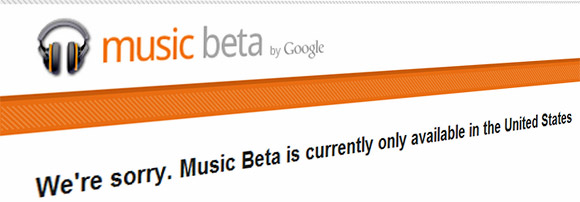 Google opens up music streaming store, Brits not invited to the party
