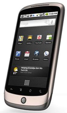 Google unveils Nexus One phone