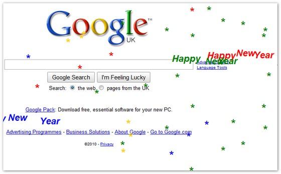 Google's New Year treat!
