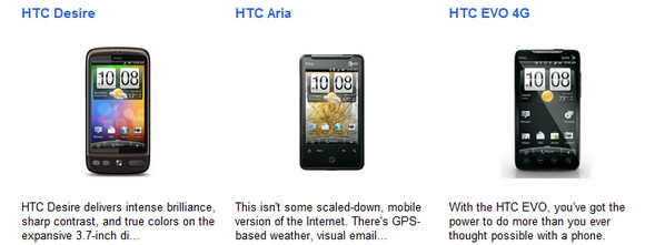 Compare Android phones with the Google Phone Gallery