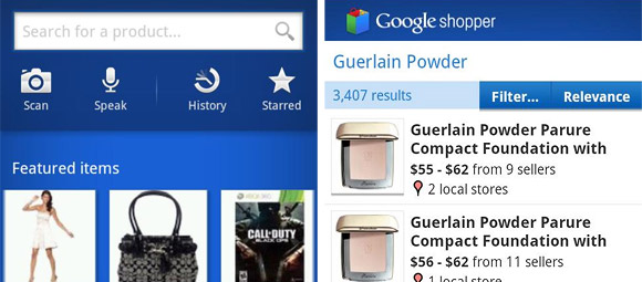 Google Shopper 2.0 offers speedier deal finding for Android