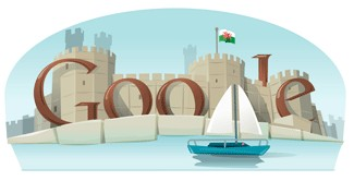 Google celebrates St David's day