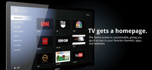 Google TV unites the web and TV in a super slick package