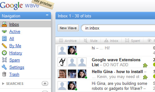 Google Wave beta - details emerge
