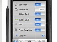 Gorillacam camera app for the iPhone