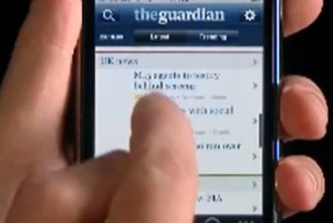 Guardian newspaper charges for iPhone app