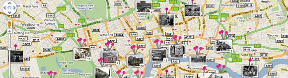 Historypin mashes up archive photos with Google Street View