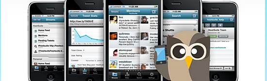 HootSuite iPhone Twitter app greets compulsive Twitterers